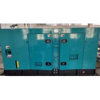 Low Noise Soundproof Fuel Tank Generator With Multi Way Air Inlet / Exhaust Passage for sale