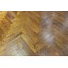 teak vintage herringbone parquet wood flooring for sale
