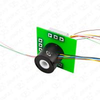 Wholesale 9 Circuits Through Hole Slip Ring Transmitting Power In 360 Degree Continuous Rotation from china suppliers