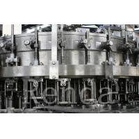 Wholesale Automatic Bottle Carbonated Soft Drink Beverage Filling Machine / Bottling Machine from china suppliers