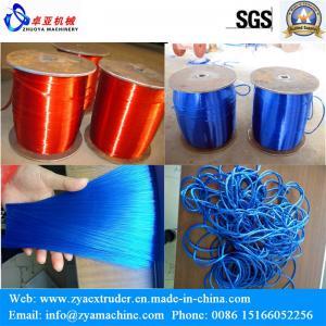 PET Broom Brush Safety Net Rope Filament Extruder Machine