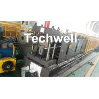 Wholesale 0-15m/min Forming Speed Cold Roll Forming Machine For Making Top Hat Channel , Furring Channel from china suppliers