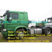 Wholesale EuroII SINOTRUK HOWO 4X2 TRACTOR TRUCK 290HP With one Bed in Cabin from china suppliers