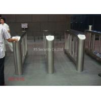 Quality Pedestrian Retractable Supermarket Swing Gate High Security Barrier Turnstile for sale