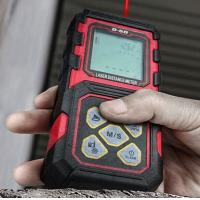 Quality Compact Design Mini Portable IP54 Waterproof 0.3- 60m  Laser Distance Meter For Engineering Measurement for sale