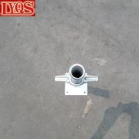 Buy cheap Scaffold Leveling Jack with Base Plate Screw Jack from wholesalers
