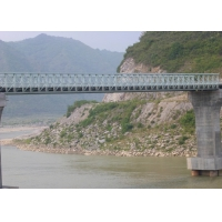 Wholesale Steel Structure Delta AiSi 36m Cable Suspension Bridge from china suppliers