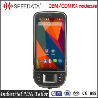 China 4G LTE Outdoor Rugged GPS Biometric Fingerprint Scanner PDA with Optical Modules on sale