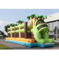 Wholesale Comercial Jungle Theme Mega Bouncy Blow Up Obstacle Course Red Balls from china suppliers