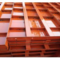 China Manufacture Reusable Construction Steel Panel Formwork Concrete Shuttering Panels on sale