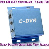 Wholesale Mini C-DVR 1CH CCTV Surveillance TF Card DVR Digital Audio Video Recorder Motion Detection from china suppliers