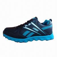 China Men's Sports Shoes with Mirco-fabric Upper and MD Outsole on sale