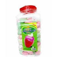 Wholesale Lovely Strawberry Ice Cream Shape Marshmallow Sweet and Soft from china suppliers