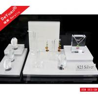 Wholesale Jewelry Counter Lucite Jewellery Necklace Display Stands Top Grade from china suppliers