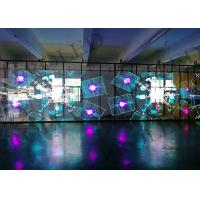 Buy cheap led display Transparent P3.9 Rental Curve Led Display Screen led curtain glass from wholesalers
