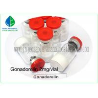 Wholesale Human Growth Hormone Peptide Gonadorelin 2mg Injection CAS71447-49-9 from china suppliers