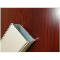 Rectangular 6063 - T5 Structural Aluminum Profiles With Anodizing / Electrophoresis for sale