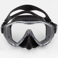 Quality Black Fashion Professional Diving Mask Commercial Diving Equipment for sale