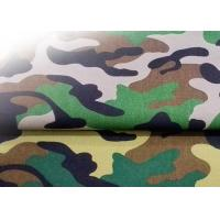 China Bv Water Resistant Fabric 185 Gsm , Softshell Camo Print Fabric 100% Polyester on sale