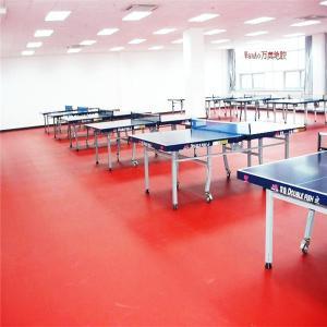 table tennis ping-pong floor, plastic floor, pvc sport floor