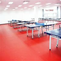 Wholesale table tennis ping-pong floor, plastic floor, pvc sport floor from china suppliers