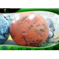 Wholesale Large Inflatable Advertising Balloons , Inflatable Planet Balloon For Advertising from china suppliers