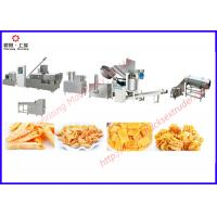Wholesale wheat flour frying snacks extruder processing line from china suppliers