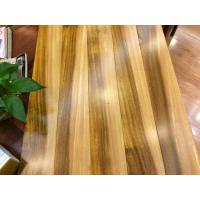 Multi colored African iroko solid wood flooring for sale