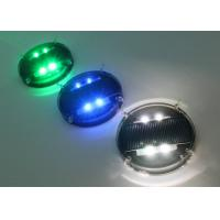 Waterproof Solar Road Markers / Flashing Marker Lights With Ni-MH Battery