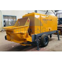 Wholesale Hood Rigidity Concrete Mixer Pump Machine , 40m3 / H Cement Mixer And Pump from china suppliers