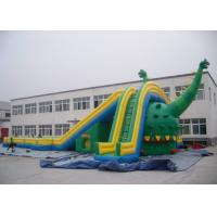Wholesale 30M Long Giant Dinosaur Inflatable Slide / Kids Huge Blow Up Slide from china suppliers