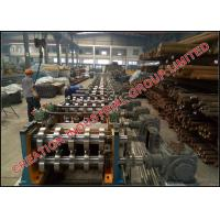 China Galvanized Steel Cee Section Roofing Purlin Frame Sheet Roll Formed & Punching Cutting Machine on sale