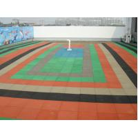 Wholesale Colorful Rubber Brick Pavers Paver Laying Machine For Kindergarten from china suppliers