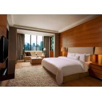 Wholesale 5 Star Hotel Bedroom Furniture King Size Wooden Material OEM Service from china suppliers