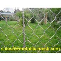 Wholesale (HIGH-TECH)Stainless steel wire rope mesh fence from china suppliers