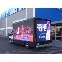 Wholesale 5500cd/m2 7000 Nits P8 Mobile Advertising LED Display from china suppliers