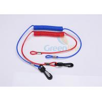 Wholesale Red / Blue Jet Ski Safety Lanyard Cut - Out  Cord For Watercraft 3.5MM from china suppliers