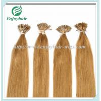 Wholesale Pre-Bonded Hair 10-28 100s/pack 27# color Straight Human Hair  hair extension malaysian from china suppliers