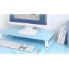 Small Adjustable Monitor Riser Stand , Computer Monitor Desk Riser for sale