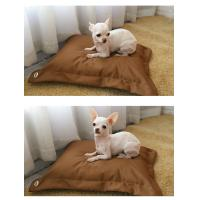 Wholesale Pillow Shape Shredded Memory Foam Dog Bed with Waterproof Removable Washable Cover from china suppliers