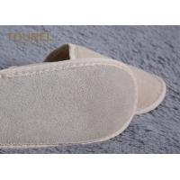 Guest Close Toe Cotton Disposable Hotel Slippers White Waffle Hotel Slippers