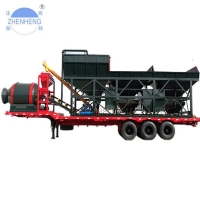 Buy cheap YHZM35 35m3/H Mobile Concrete Batching Plant For Road Bridge from wholesalers