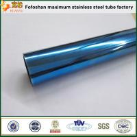 Wholesale Foshan Factory 304 Royalblue Slotted Stainless Steel Tube from china suppliers