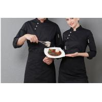 Wholesale Designer Chef Uniforms Long Sleeve Tops + Apron Costumes Chef Overalls Kitchen Uniform Restaurant Clothing Cooking Wear from china suppliers