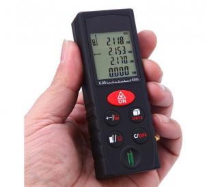 Quality Handheld 40m Digital Laser Distance Meter Rangefinder Measure Diastimeter Area Volume Pythagorean Theorem Tester Tool for sale