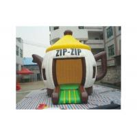 Wholesale Attractive Fire Resistant Teapot X Inflatable Bouncer With CE / UL Blower from china suppliers