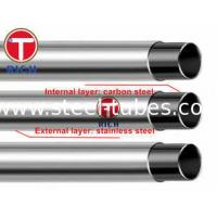 Buy cheap GB/T 18704 Stainless Steel pipe Clad Steel Pipe Stainless Steel Tube 302 304 12Cr17Mn6Ni5N from wholesalers