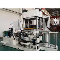 China 1500 Ton Bridge Shock Absorbing Rubber Parts Molding Machine 1.5 m Heating Plates for sale