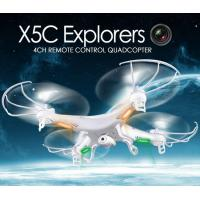 Wholesale X5C 2.4GHz 4CH 6-Axis GYRO RC Quadcopter Drone Toy 2MP Fly Camera Recorder 360° Eversion from china suppliers