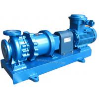 China CGF Fluorine plastic lining high temperature magnetic pump no leakage pump for sale